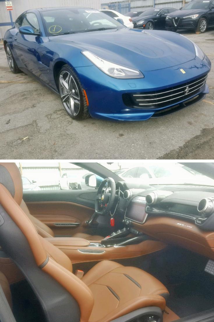 2018 Ferrari Gtc4 Lusso Luxury Vehicle Cars Insurance Auto Auction