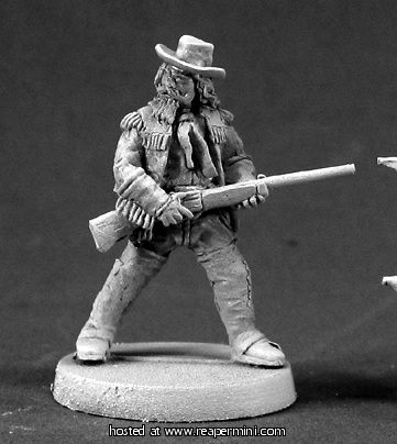 Reaper Miniatures :: Miniatures Buffalo Bill Cody