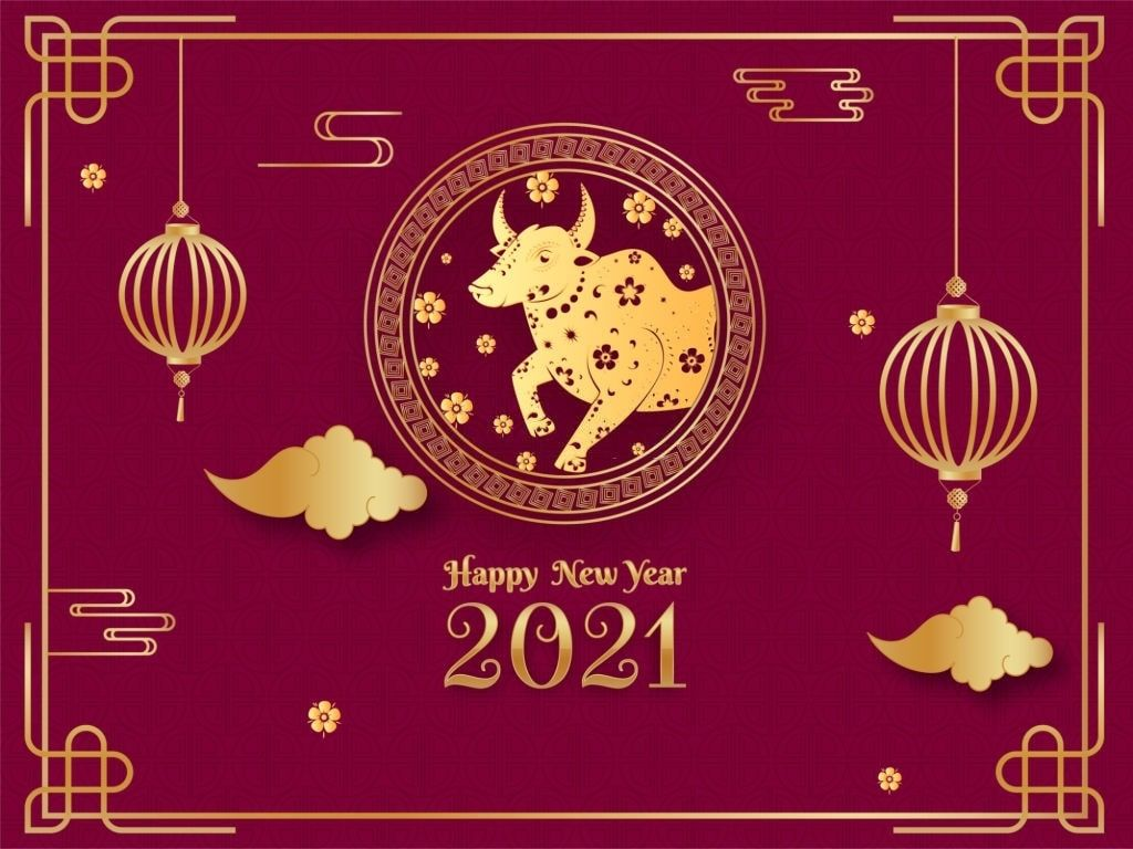 Happy Korean New Year 2021 Images Wallpaper Chinese New Year Card Korean New Year Chinese New Year Images