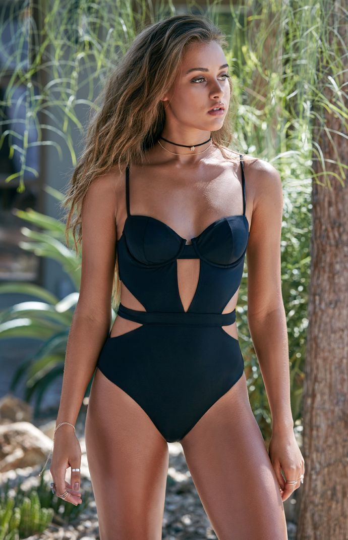 LA Hearts Cutout One Piece Swimsuit at PacSun.com  b8608f549958