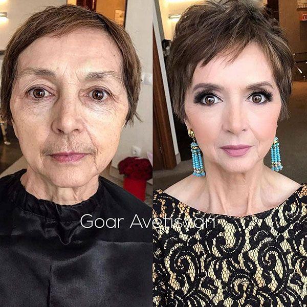 28 Best Short Hairstyles for Older Women in 2019 -   14 hair Women makeup ideas