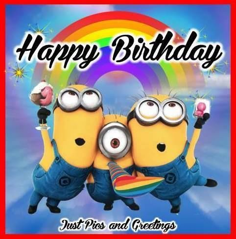 Minion Happy Birthday Image Quote With Images Happy Birthday Man