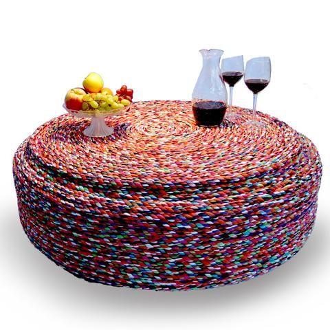Mueble ecológico hecho con llanta reciclada Rosca - Ayok Design ...