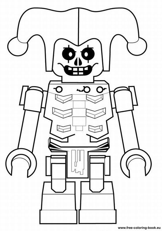 Golden Ninja Lego Coloring Page Crokky Coloring Pages | Coloring ...