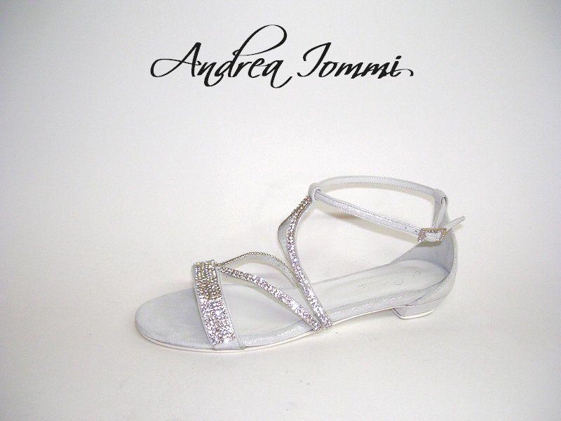 Sandalo da sposa gioiello con tacco basso Tacco 2 cm www