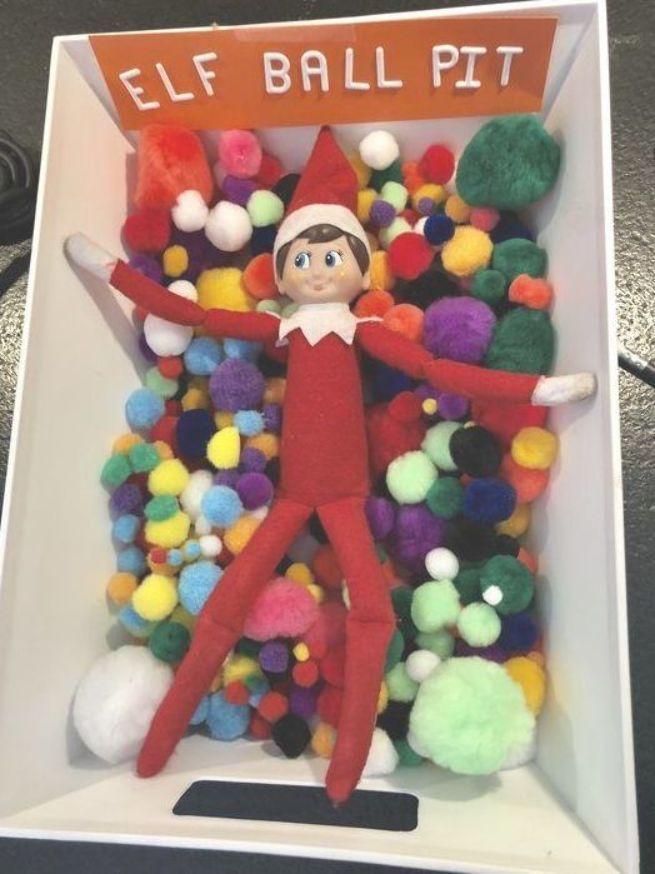 Elf on the Shelf Ideas Funny Hilarious #elfontheshelfideasfunny Elf on the Shelf...