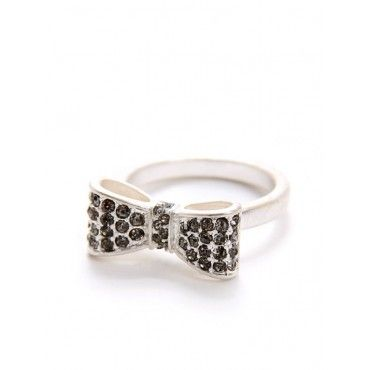 Bijuju Bow Tie Ring - Rings - Jewelry  #Bijuju