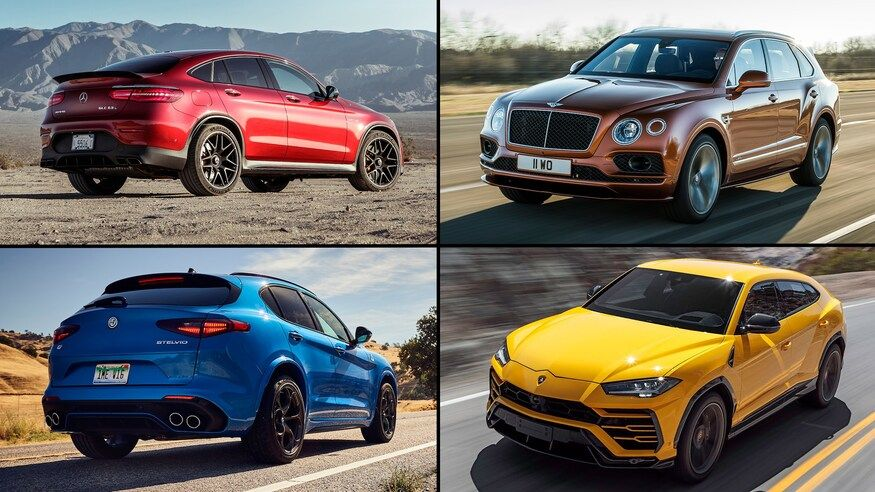 Top 10 fastest accelerating suvs 060 mph ever tested by
