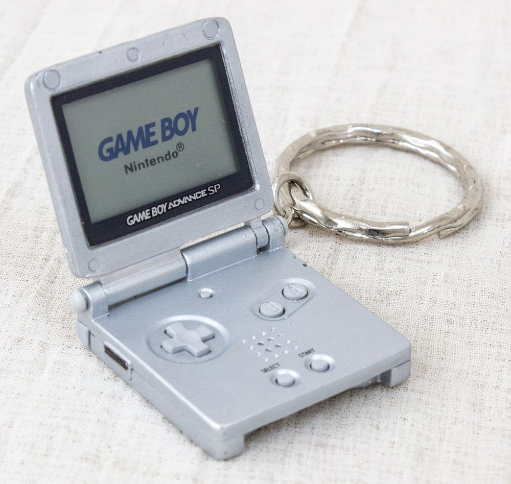 Game boy color kaufen - Nintendo Handy Game History Miniature Figure Key Chain Game Boy Advance Sp
