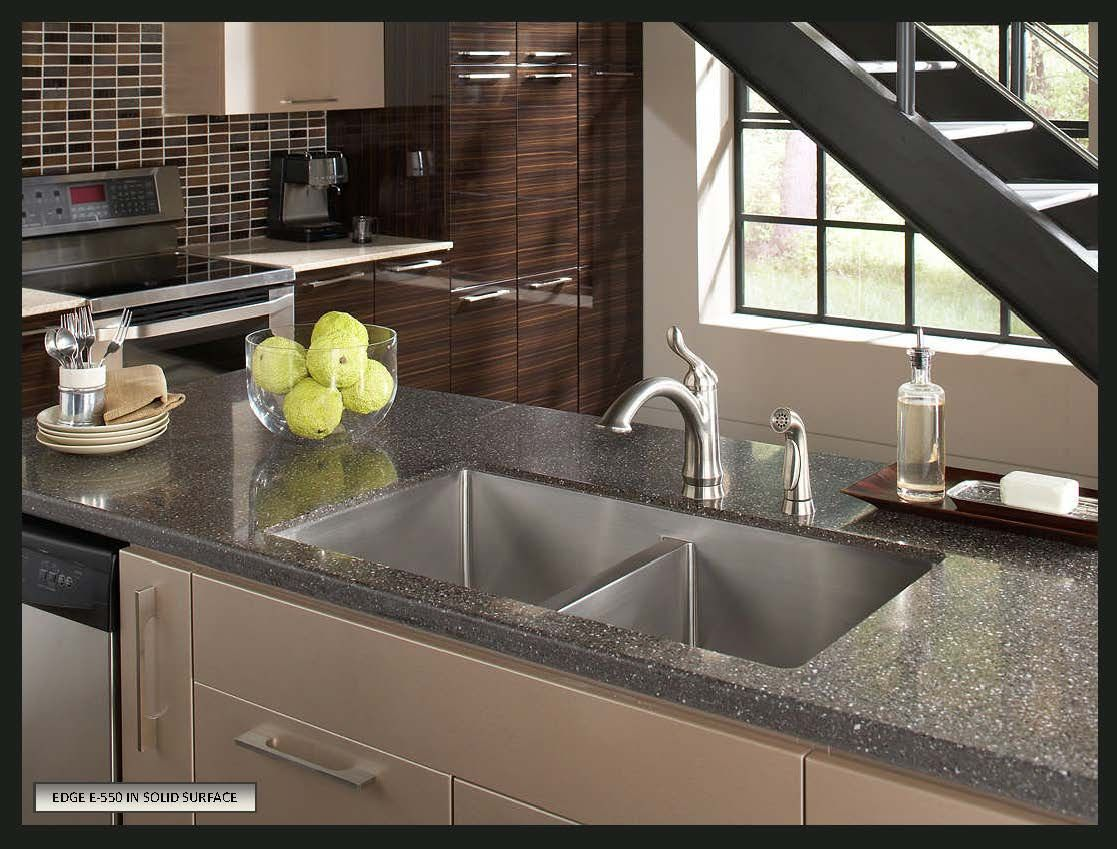 How To Choose A Sink For Solid Surface Countertops Kitchen Sink