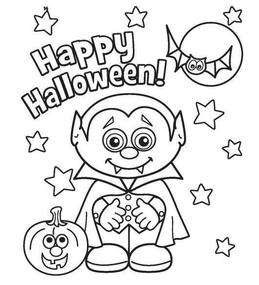 Little Vampire Printabel Halloween Coloring Pages Halloween Coloring Book Halloween Coloring Halloween Coloring Pages