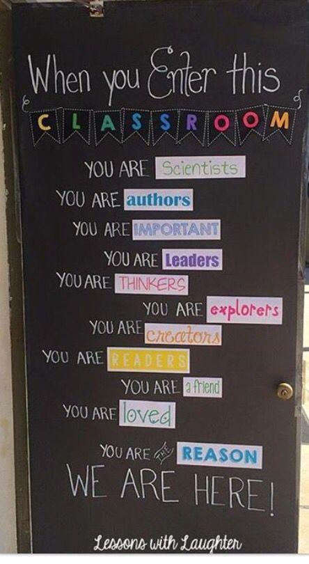 Classroom door inspiration