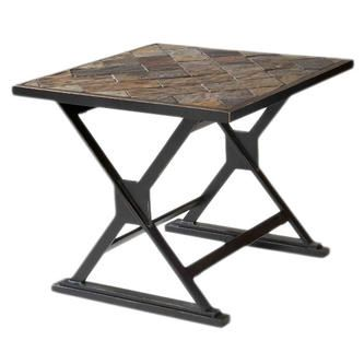 Overstock Com Durban South African Slate Top End Table End