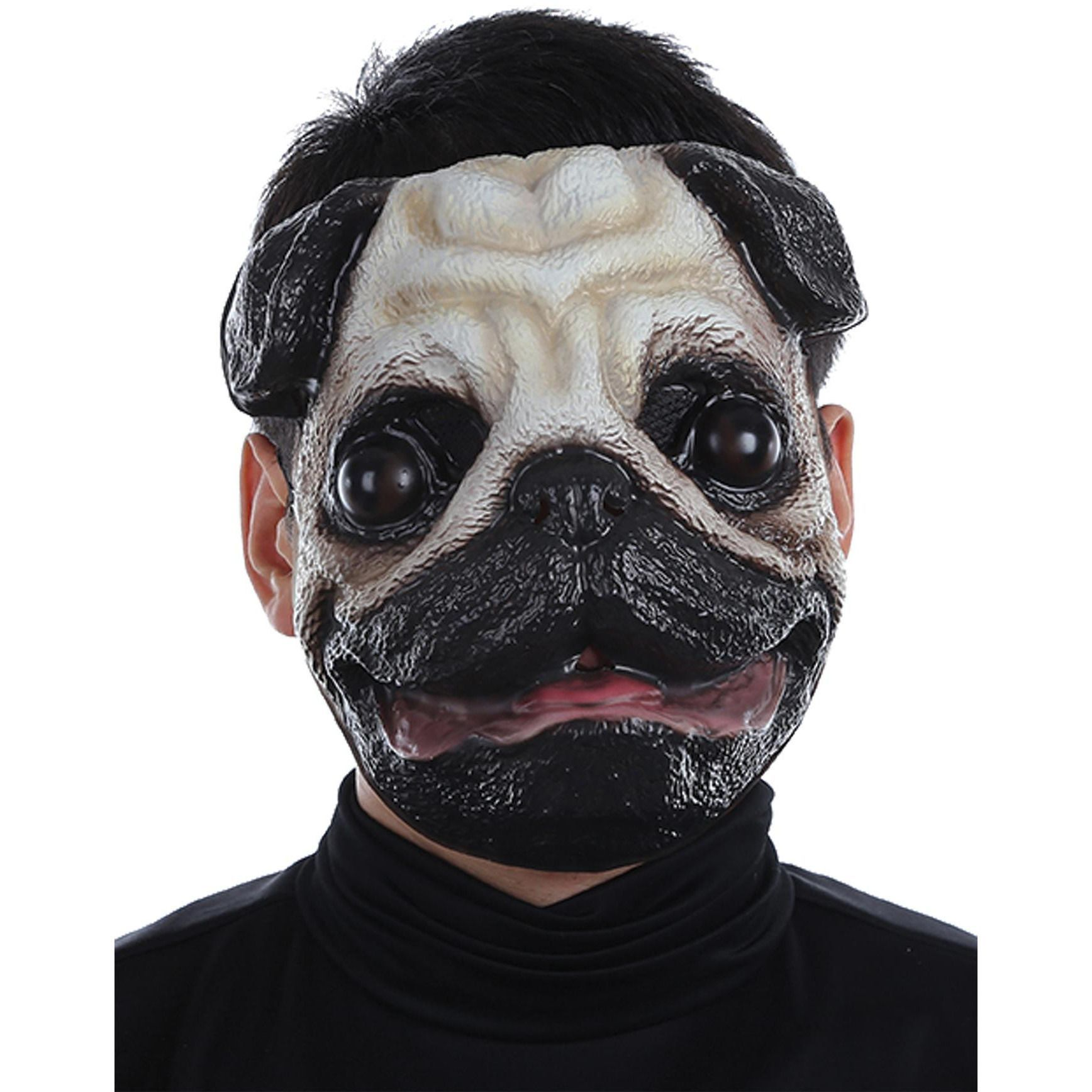 Plastic Face Masks Pug Dog Mask Pug Mask Animal Masks