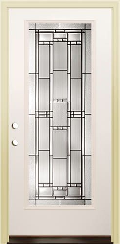 Mastercraft Ve 686 Primed Steel Full Lite Prehung Exterior Door At