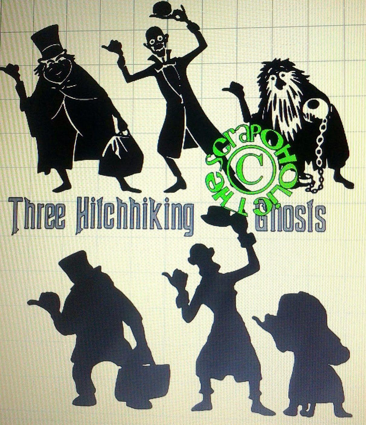 MTC/SVG Files Disney silhouettes, Disney quilt, Haunted