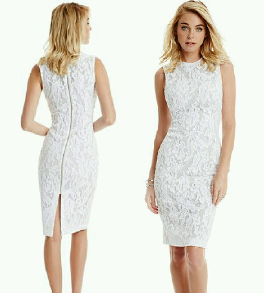 GUESS BY MARCIANO SHAMINI LACE PENCIL DRESS #Marciano #WigglePencil ...