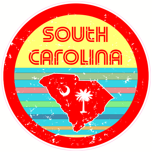 South Carolina Map Outline Printable State Shape Stencil Pattern South Carolina Tattoo South Carolina Ornament South Carolina