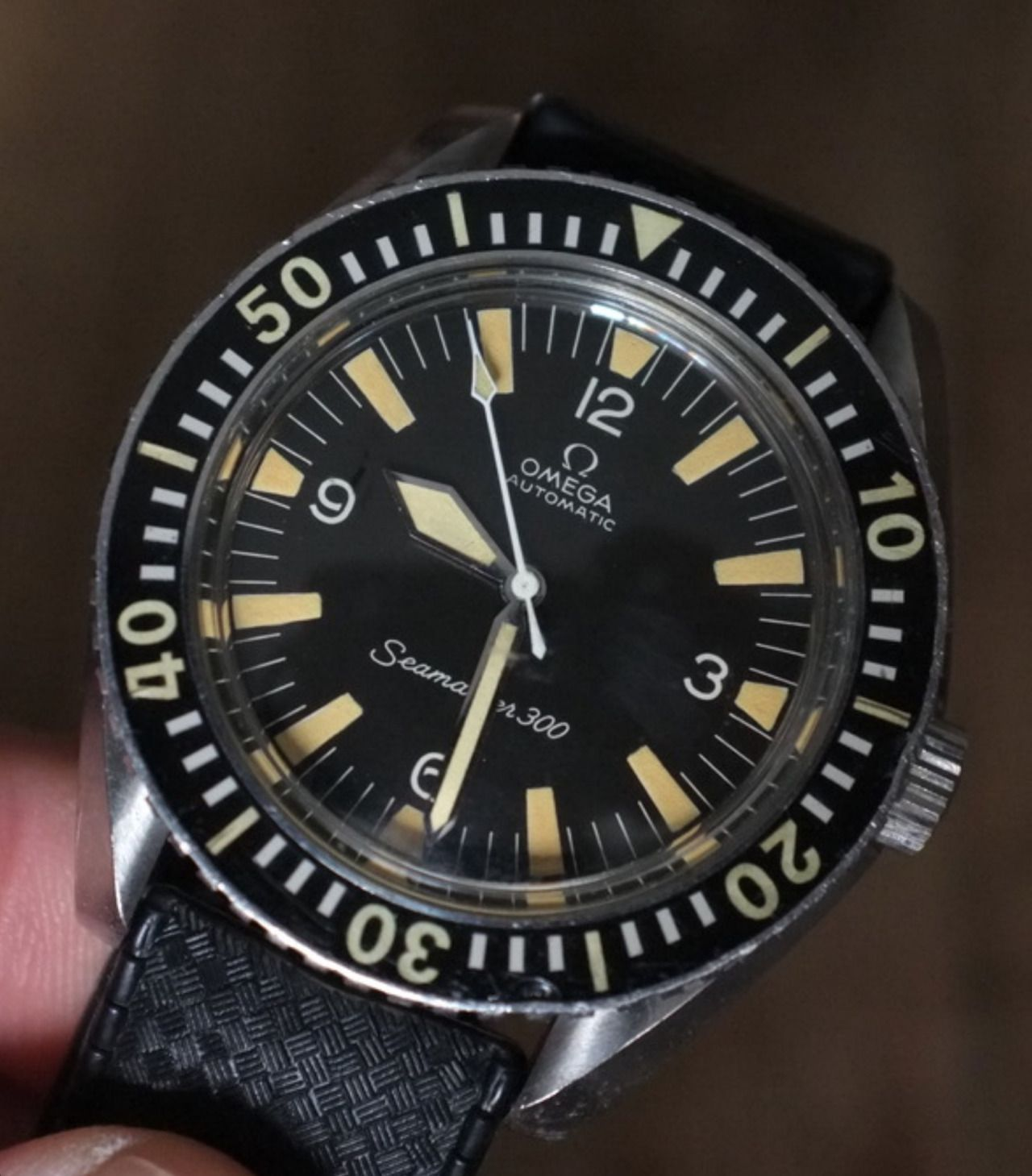 Vintage OMEGA Seamaster 300 Diver In Stainless Steel Circa
