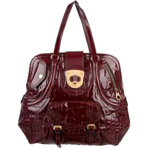 Alexander McQueen Pre-owned - Patent leather bag 1AFRP7