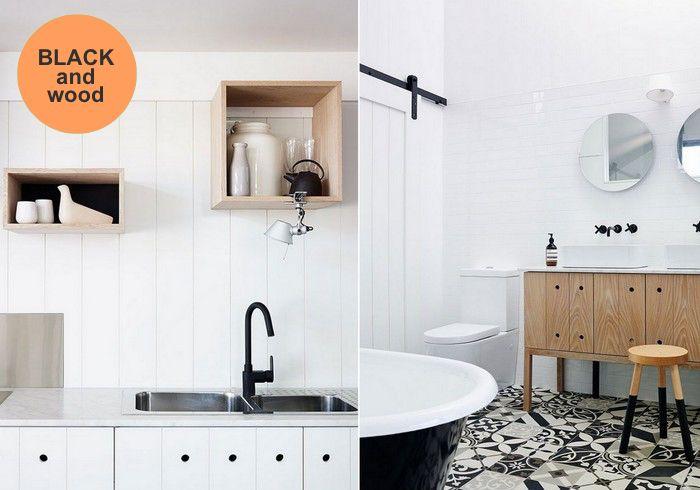 black_faucet_and_wood_accents_kitchen_bathroom_via_DesignLovers_Blog ...