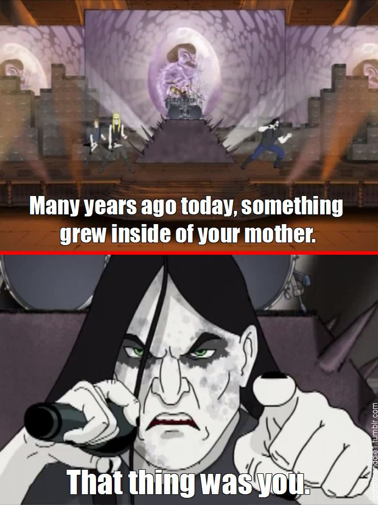 Happy Birthday Metal Meme : happy, birthday, metal, Forth, Photo, Metalocalypse,, Funny, Nerd,, Happy, Birthday