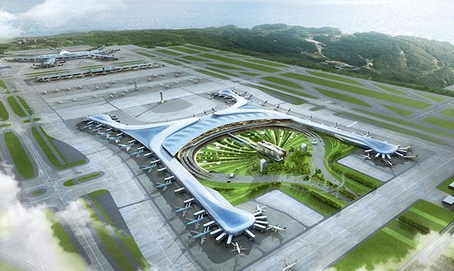 A New Zen Terminal for Incheon Airport   Architecture   Pinterest ...