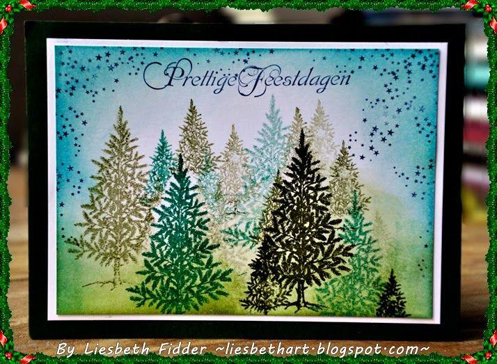Liesbeth's Arts & Crafts: Christmas trees !