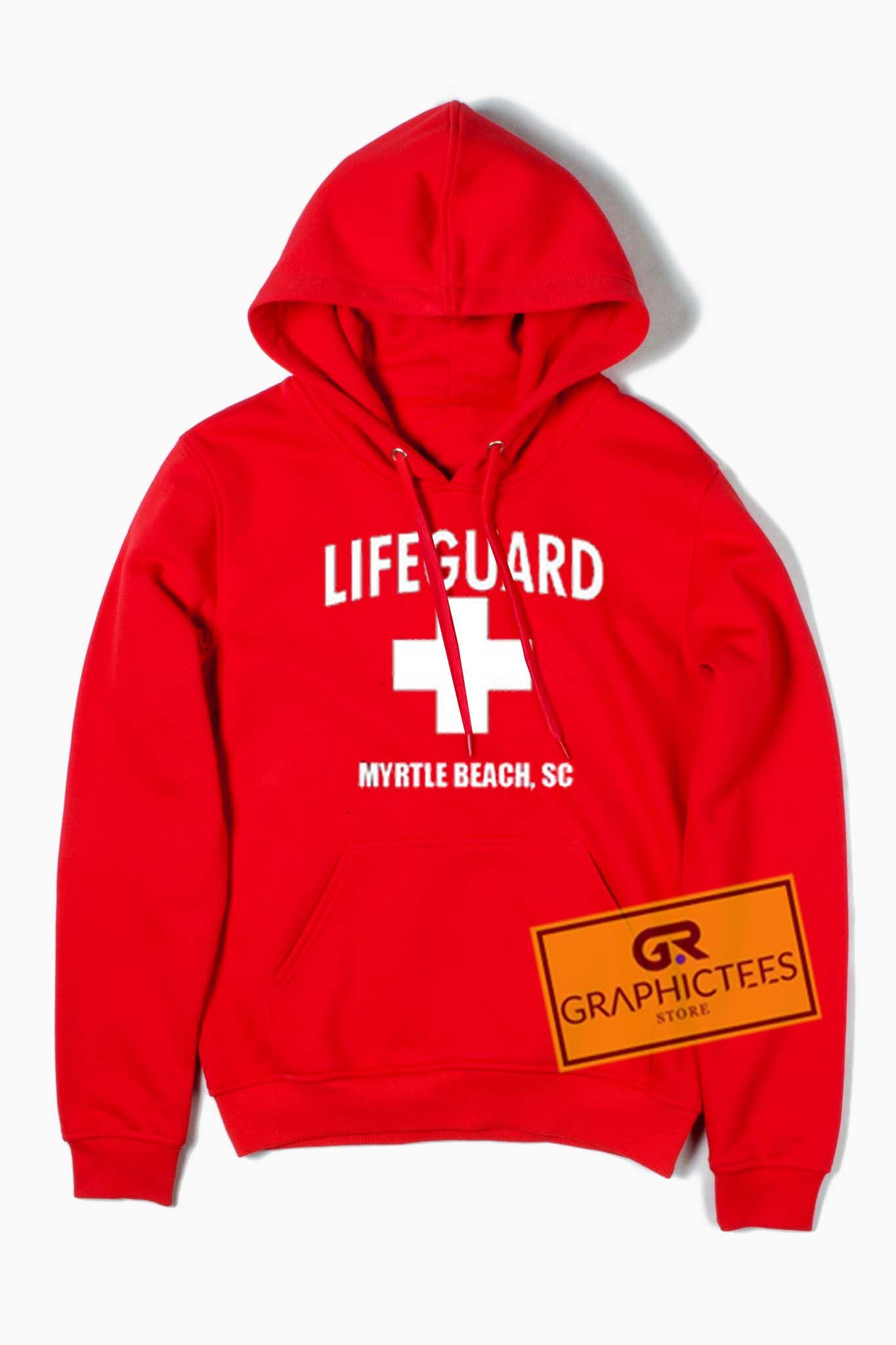 fdeb0f795153 Life guard myrtle beach red hoodie graphic tees price graphic tees for men  jpg 1365x2048 Lifeguard