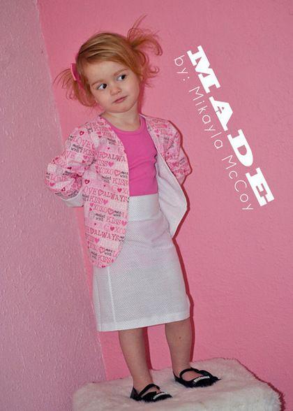 Colorful Modern Kids Sewing Patterns Embellishment - Knitting ...