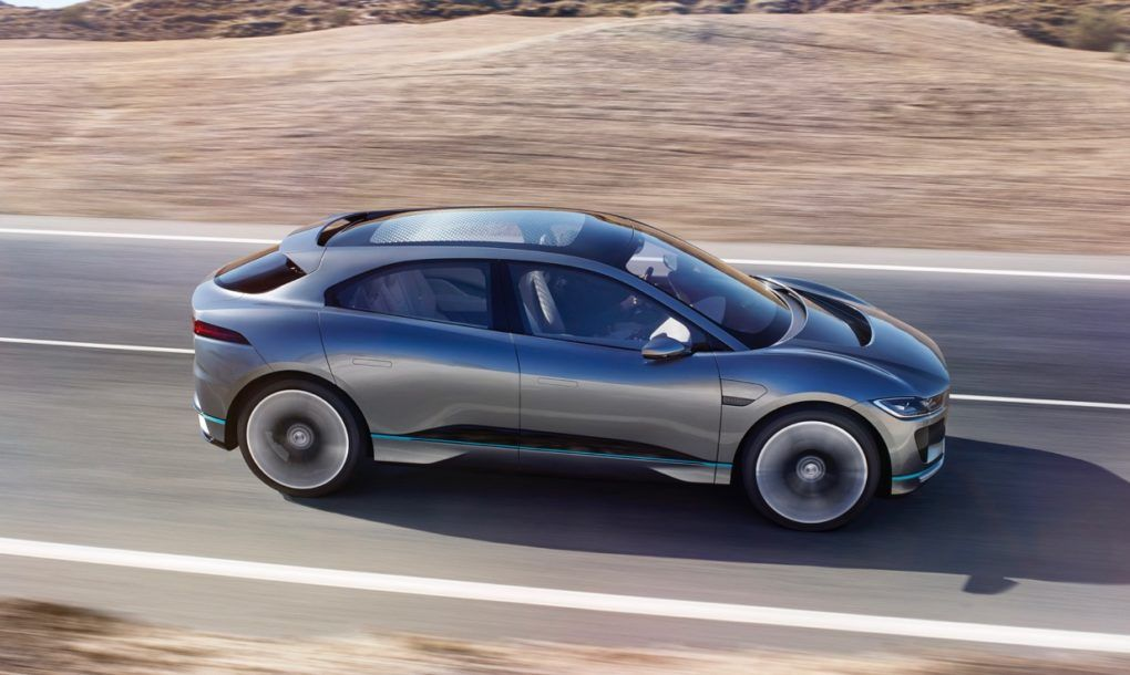 Jaguar S New I Pace Electric Suv Is Ready To Take On The Tesla Model X