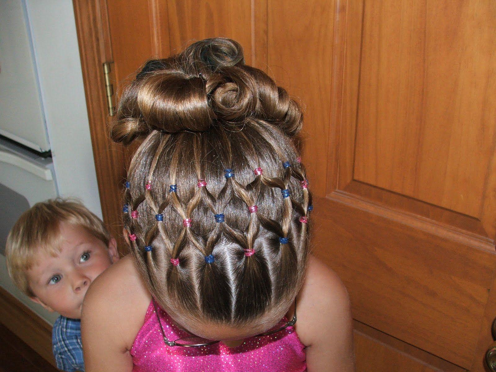 gymnastics competition hair http://instagram/sparklysodastyle