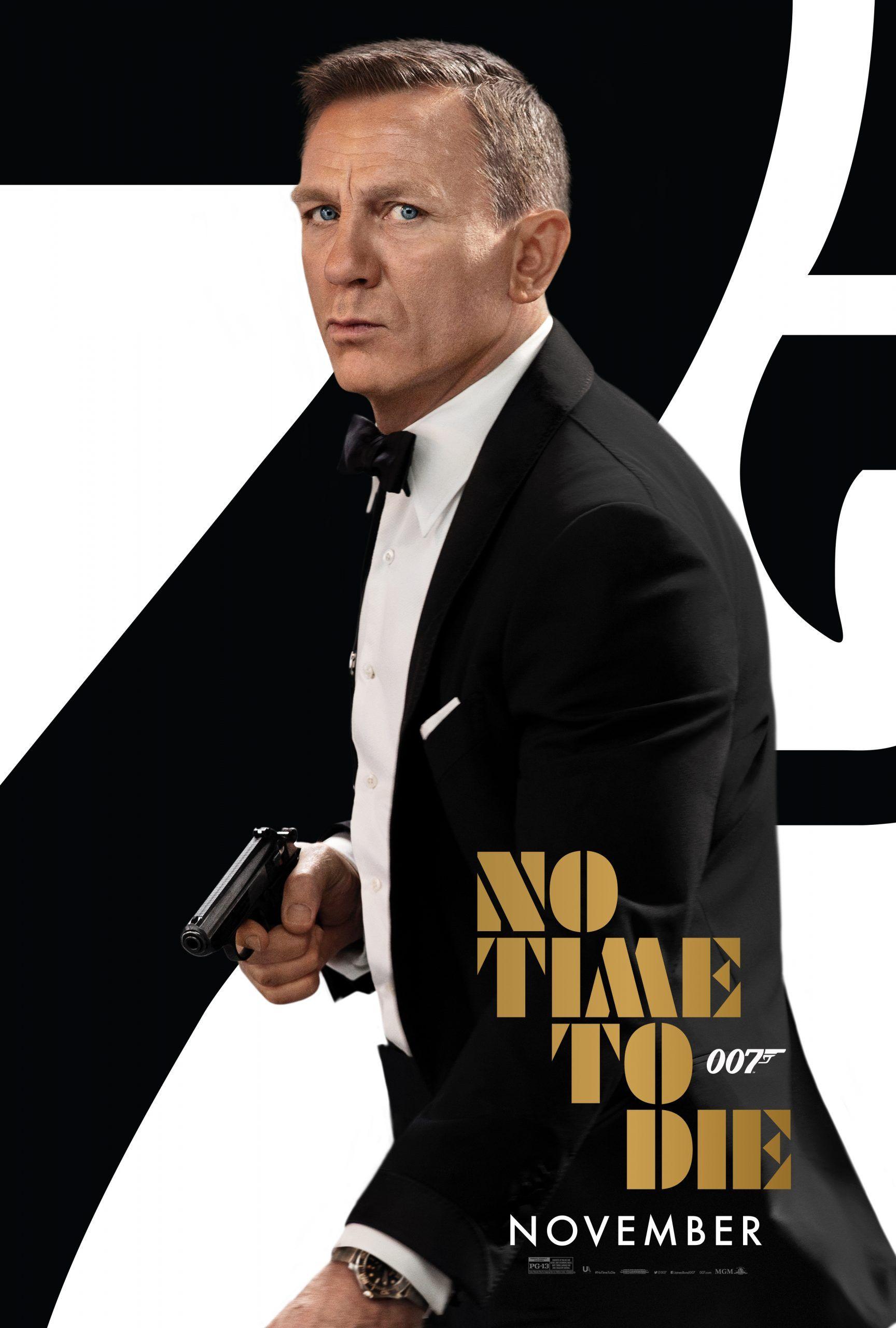 New Movie No Time To Die Starring Daniel Craig Daniel Craig James Bond Movies James Bond