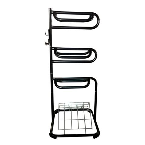 Is A Three Tier Saddle Rack With Vented Blanket Rack