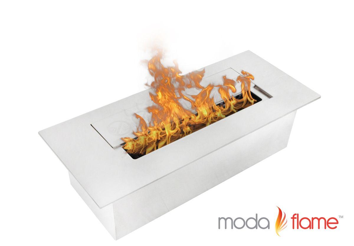 Moda Flame 3l Indoor Outdoor Ethanol Fireplace Burner Insert