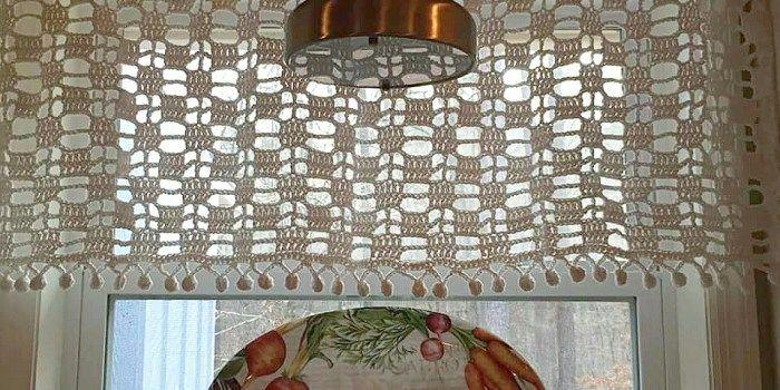 window pane 2   Crochet Patterns   Pinterest   Gardinen