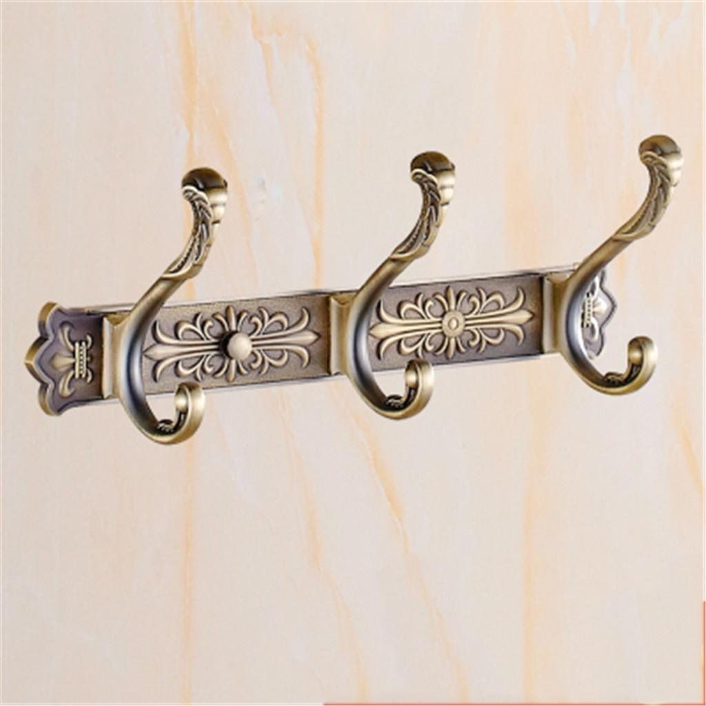 Hook Rail Coat Rack Antique Retro Coat Hooks European Row Hooks Hangers Coat Hooks Living Room Door After In 2020 Bathroom Wall Hanging Living Room Door Bathroom Hooks