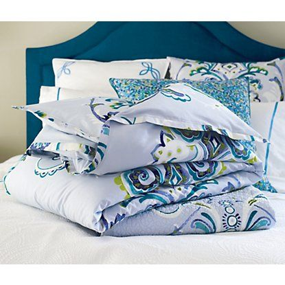 Adele Quilt & Sham in Blue (floral Pattern, Quilt) | Fine Quilts ... : company c quilts - Adamdwight.com