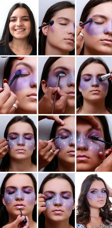 Maquillaje Galaxy para el carnaval – Samantha Fashion Life