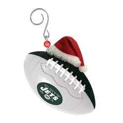 new york jets ny team ball christmas tree ornament