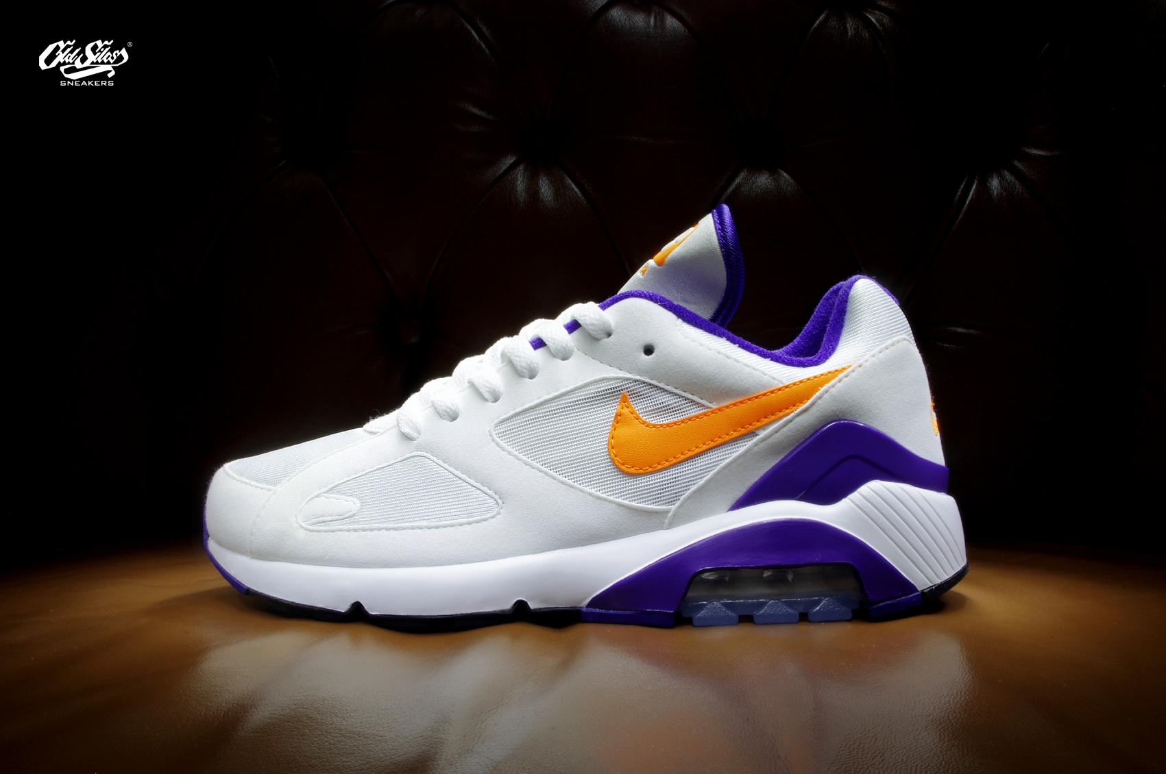 Nike Air Max 180 615287 101 WHITE BRIGHT CERAMIC DARK