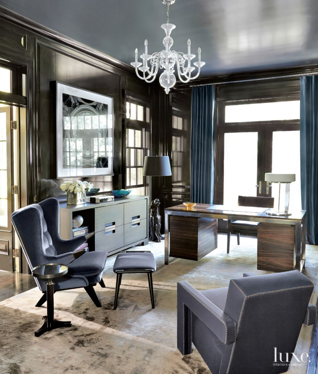 A Modern New York Apartment with a Refined Art Deco Aesthetic ...