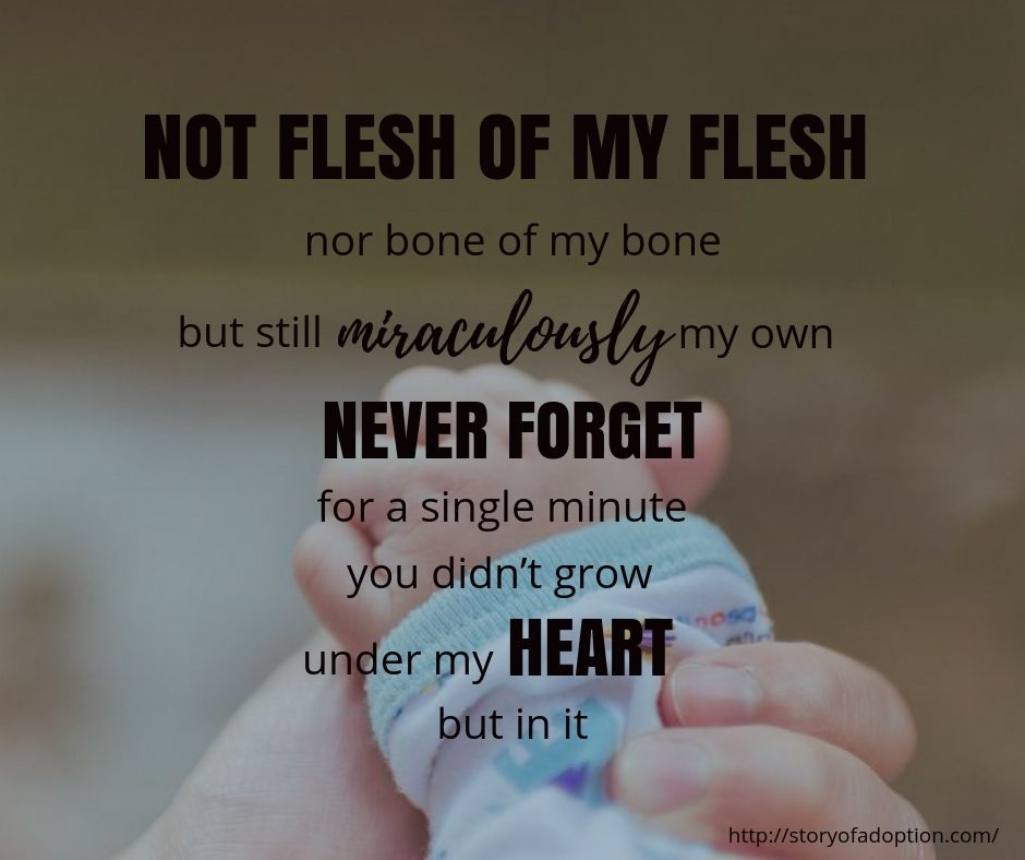 Not Flesh Of My Flesh Nor Bone Of My Bone But Still Miraculously
