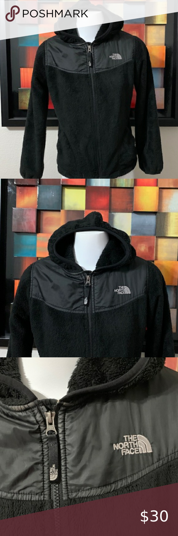 The North Face Black Fleece Jacket Size Large Black Fleece Jacket Black North Face Fleece Jacket [ 1740 x 580 Pixel ]