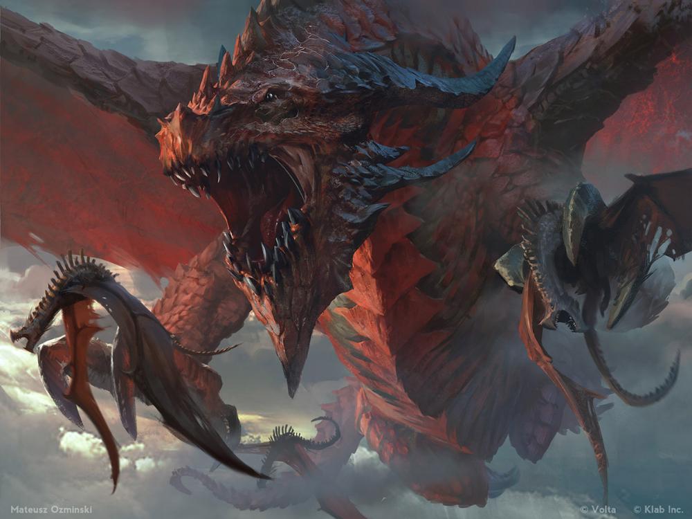 Big dragons eat small dragons