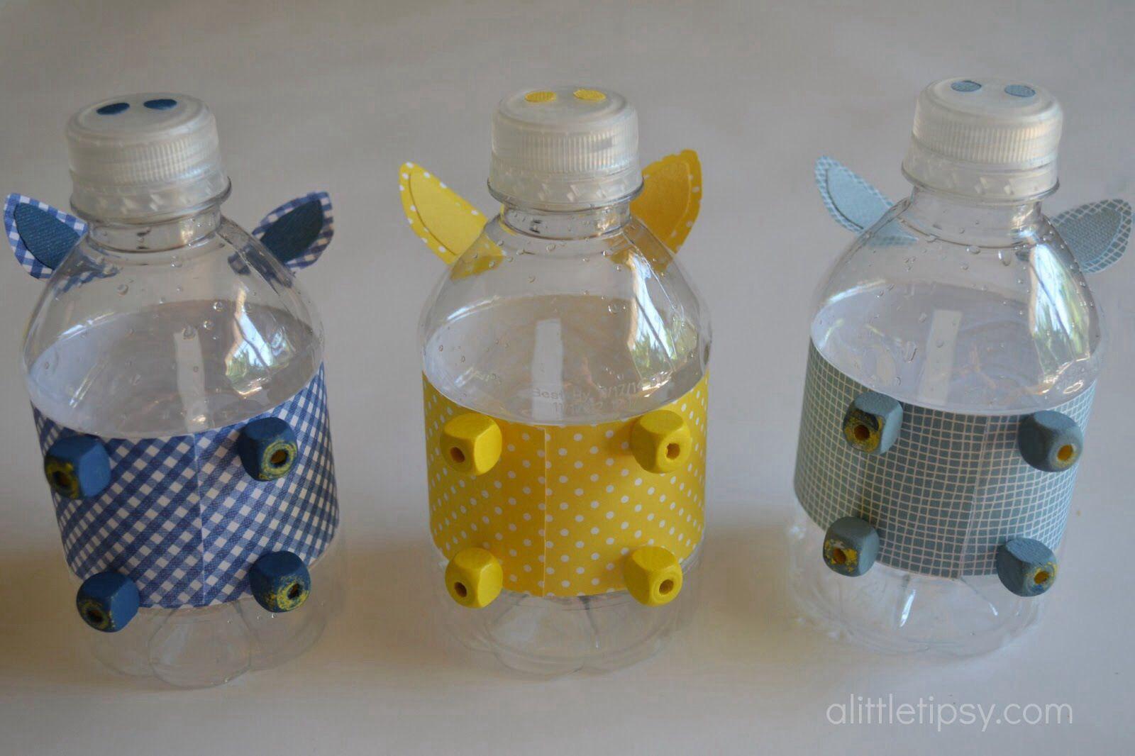 Bottle piggy banks 12monthsofmartha giveaway homemade for Plastic bottle coin bank
