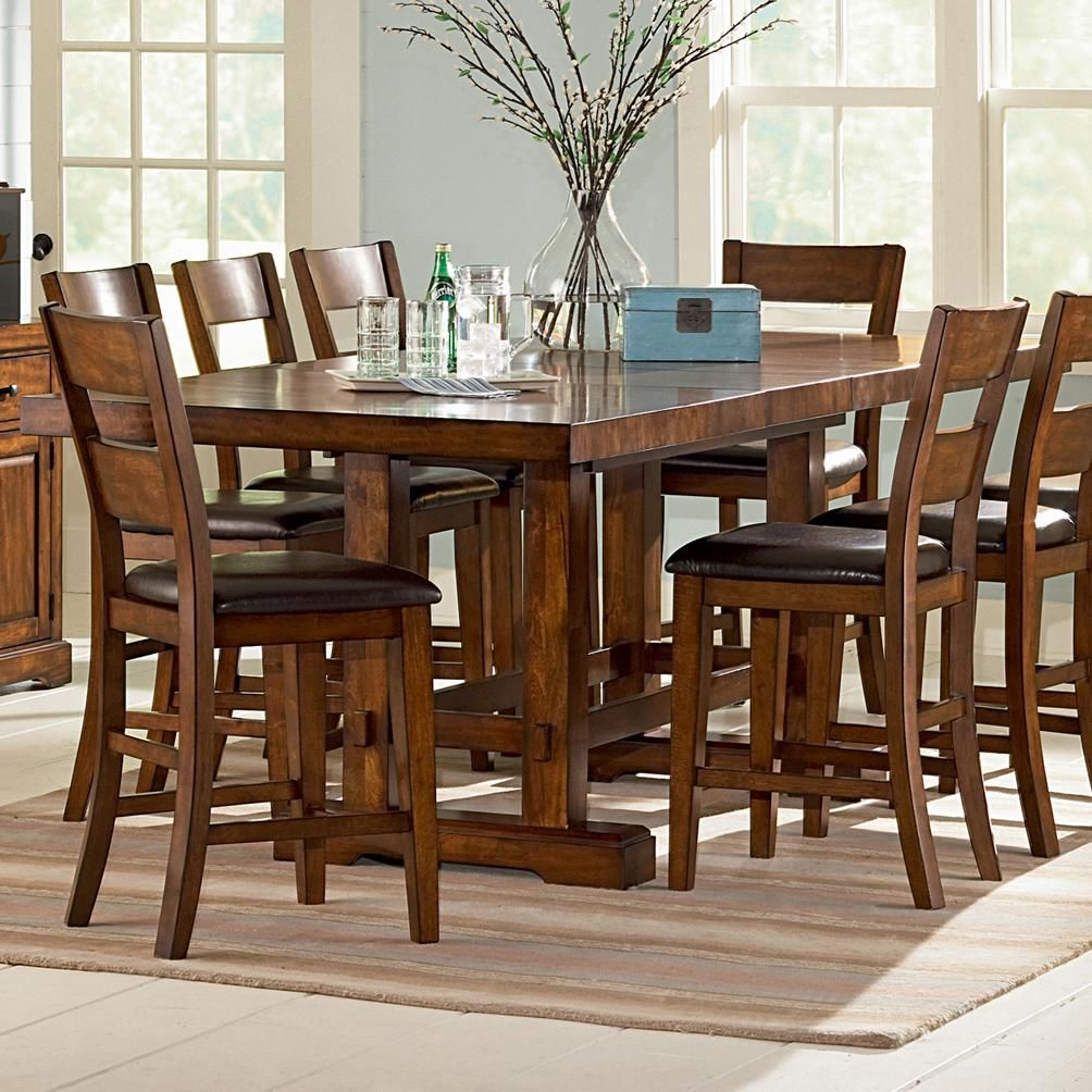 Zappa Rectangular Counter Height Table By Steve Silver Becker Furniture World P Counter Height Dining Sets Counter Height Dining Table Counter Height Table