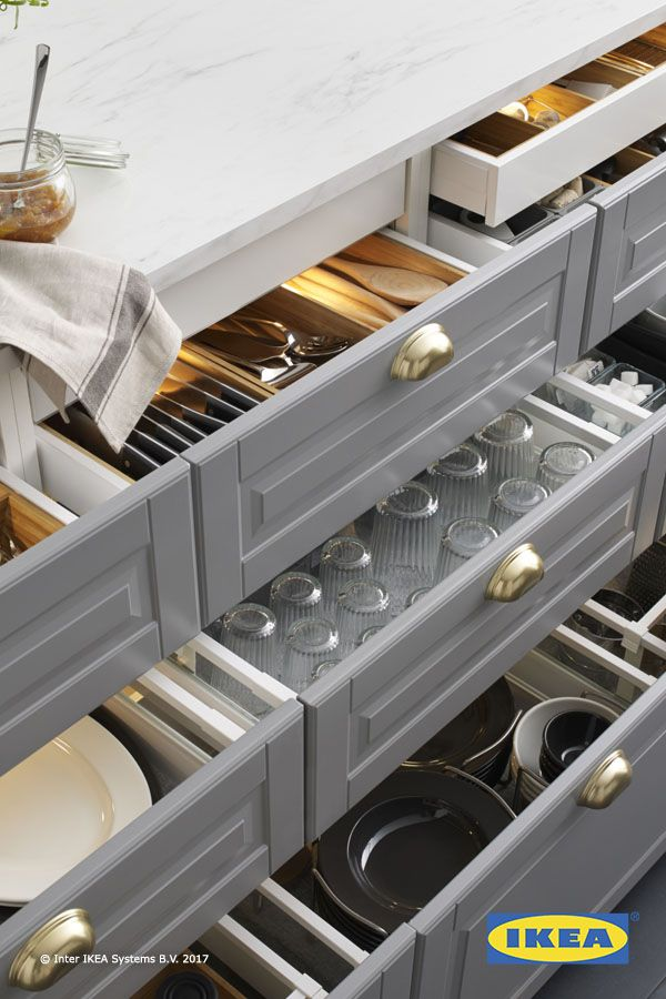 Set The Mood In Your Kitchen With Ikea Integrated Lighting
