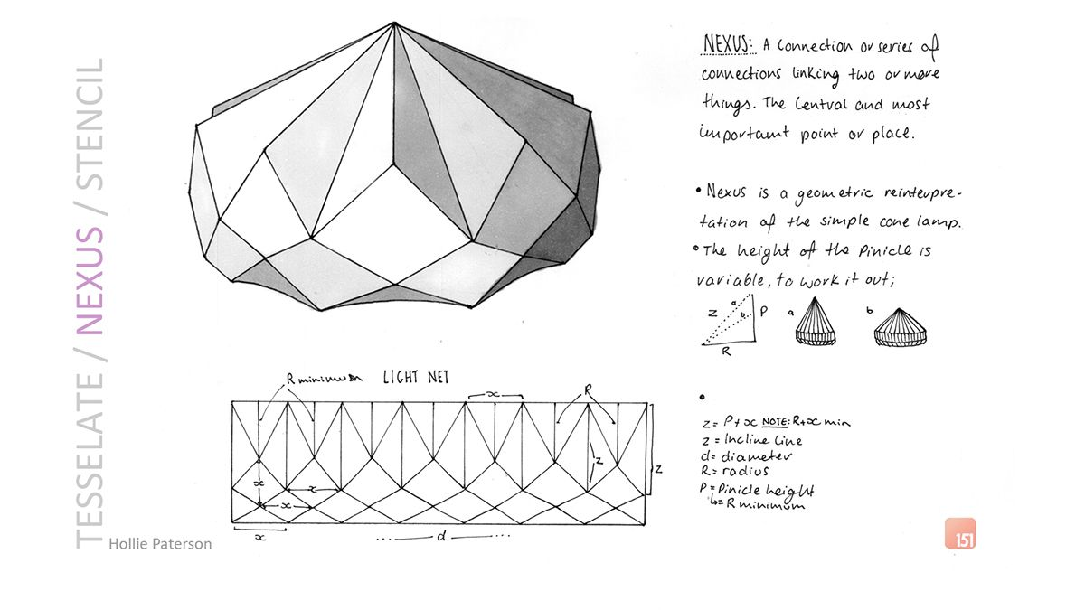 Flat Pack Lamp Concepts on Behance | LAMPSHADE | Origami