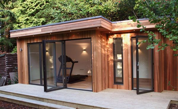 Garden Office Wood House Garden Office Shed House